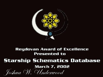 Reydovan Award of Excellence