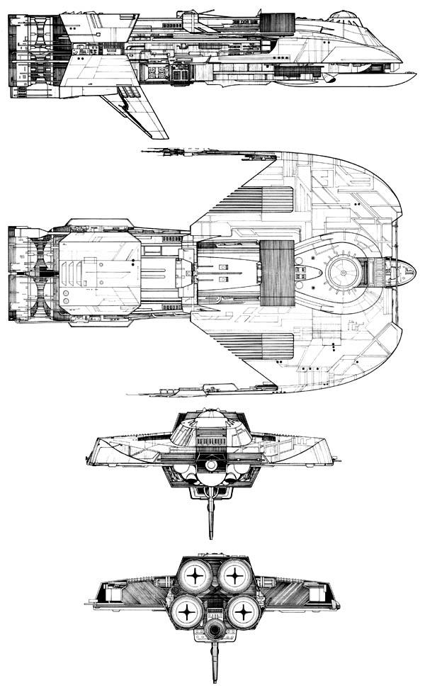 Starship Schematic Database - U.F.P. and Starfleet - Transports