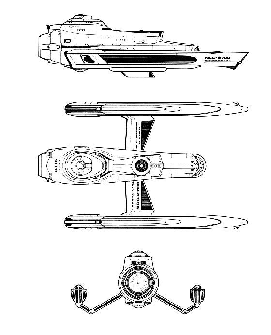 Galaxy Quest Ship Designs: Help Remembering An Old Fan Starship Design?