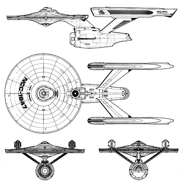 u0026quot star trek  phase ii u0026quot  enterprise
