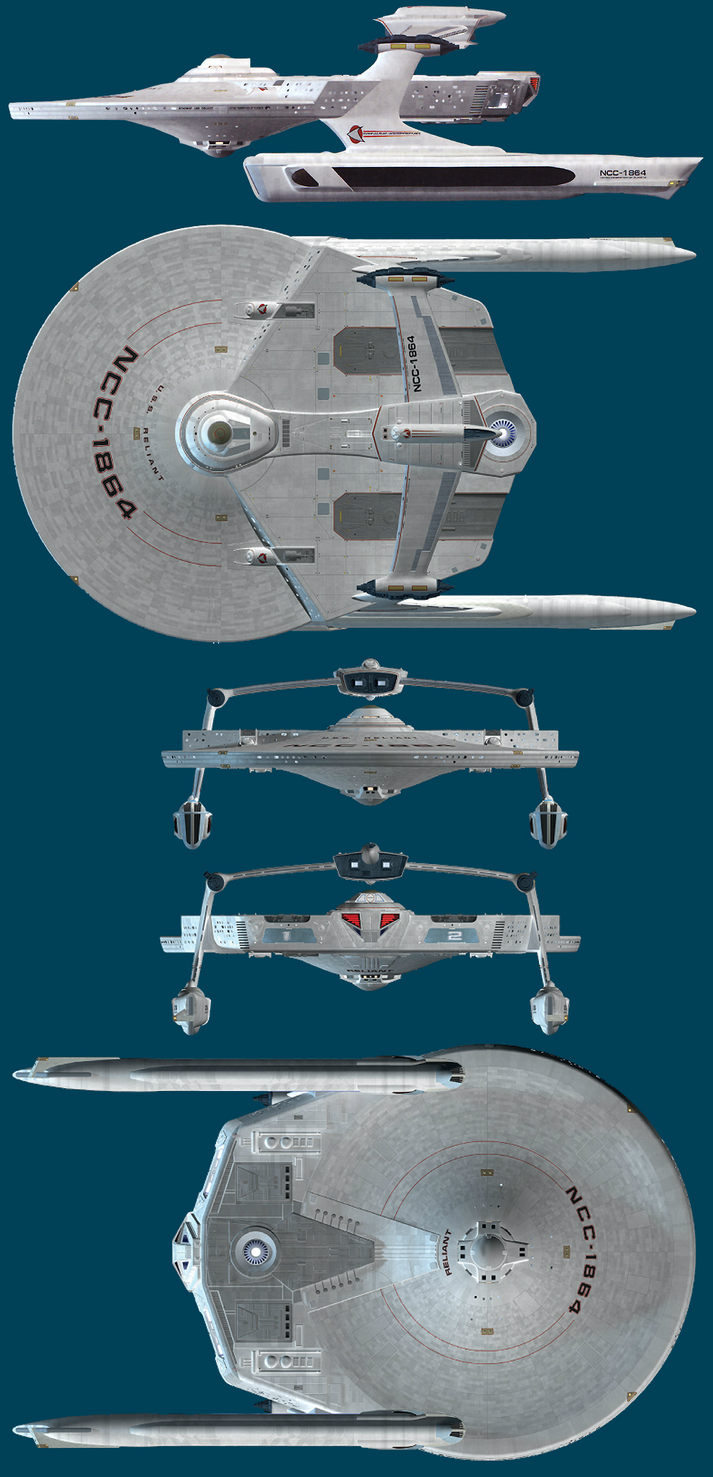 Starship Modeling Artwork
