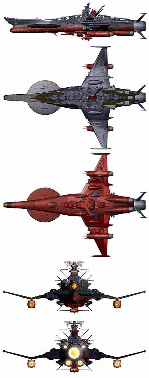 Space Battleship Yamato Database - Chronology